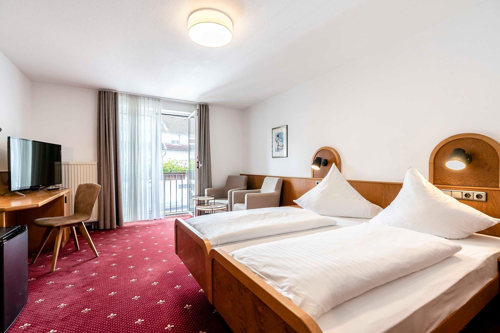 Hotel Gasthaus Loewen Buchholz Dz Balkon