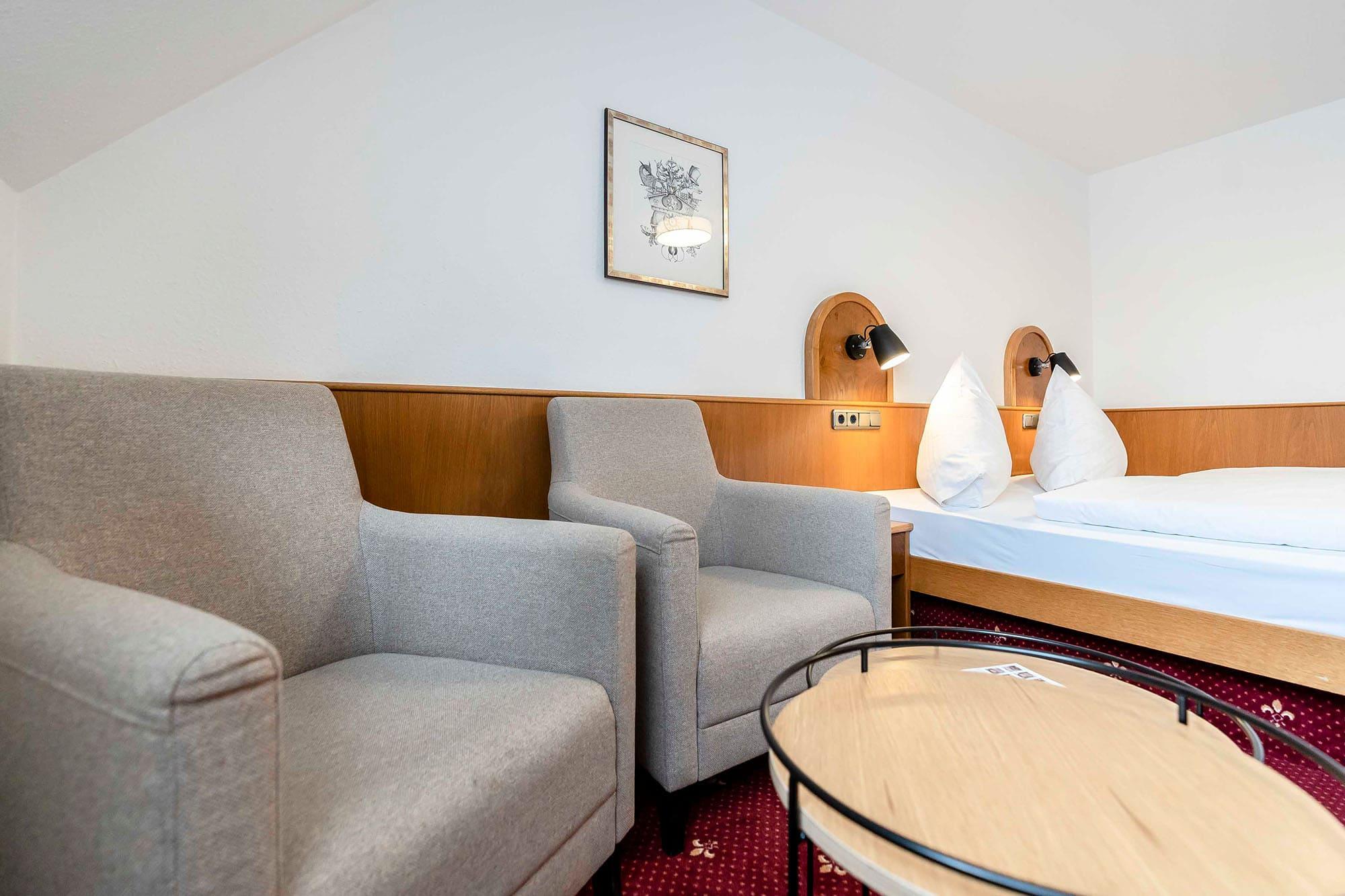 Hotel Gasthaus Loewen Buchholz Sitzgruppe