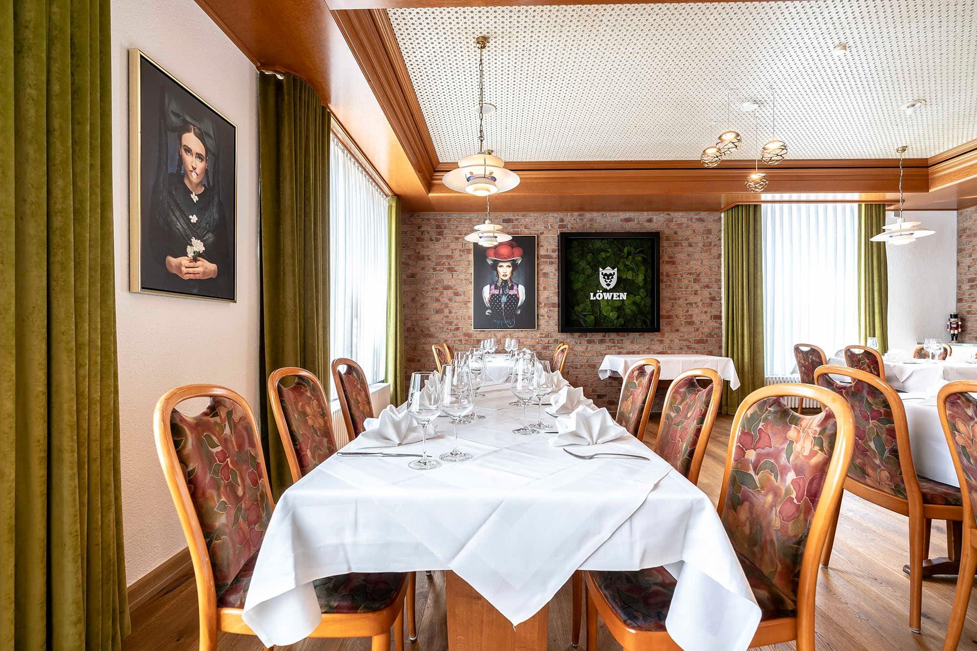 Hotel Gasthaus Loewen Buchholz Restaurant 2